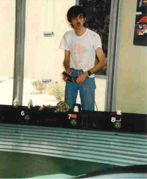 Jean-Luc Peurière au Grand Prix de Bordeaux 1987