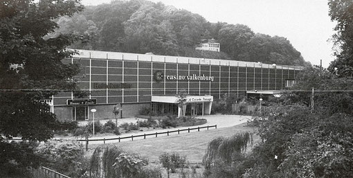 Le casino de Valkenburg pour les championnats de slot racing 1986