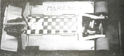 Le châssis vainqueur de Sergio Maresca