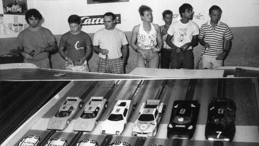 Slot racing 1986 Barcelone Grand Prix Espagne