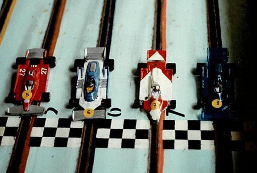 Ferrari Ligier McLaren Ligier
