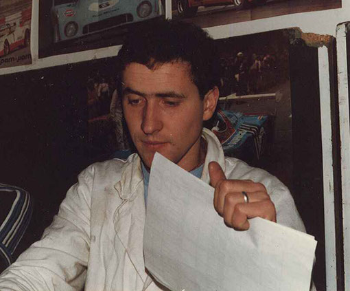 Gérard Caupène au Grand Prix d'Agen 1984
