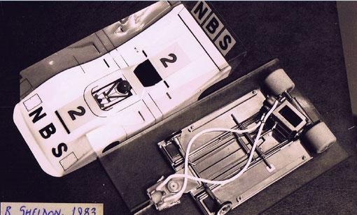 Slot car de Russell Sheldon