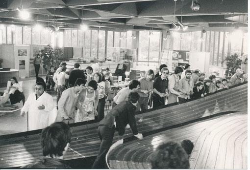 La piste de Créteil aux Championnats d'Europe 1980 ( Photos Gil Michel )