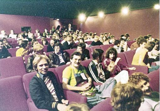Göteborg 1978 : Avant la course briefing aux compétiteurs.