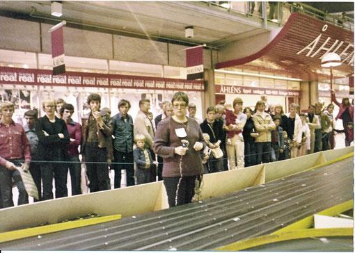 """Marie-Odile """" Marilou"""" Michel en qualification au championnat du monde de Göteborg 1978"""