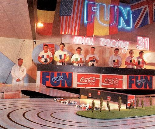 World's Slot racing 1987 Toulouse 1/32. Poteloin Dupuis Carrara Vogel Orban Roufosse Brenna