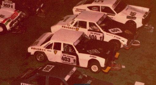 504 Peugeot slot-cars
