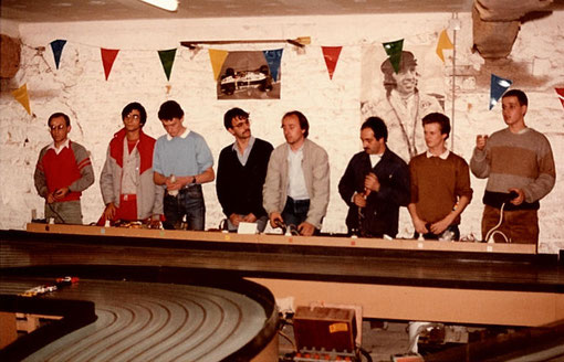 Départ de la finale Production de Thoiry 1985