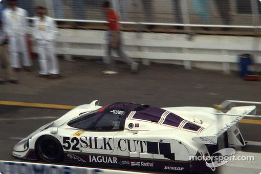 La vraie Jaguar XJR6 LM n° 52 qui a été choisie par Paul Hamo