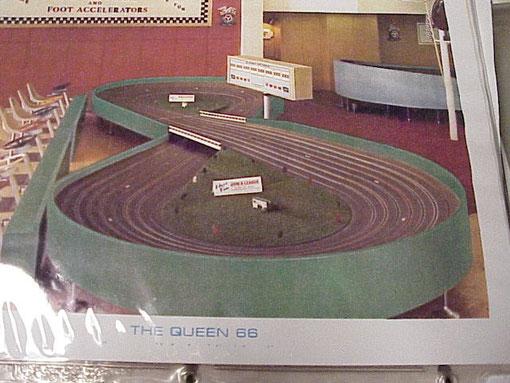 Piste slot Queen 66