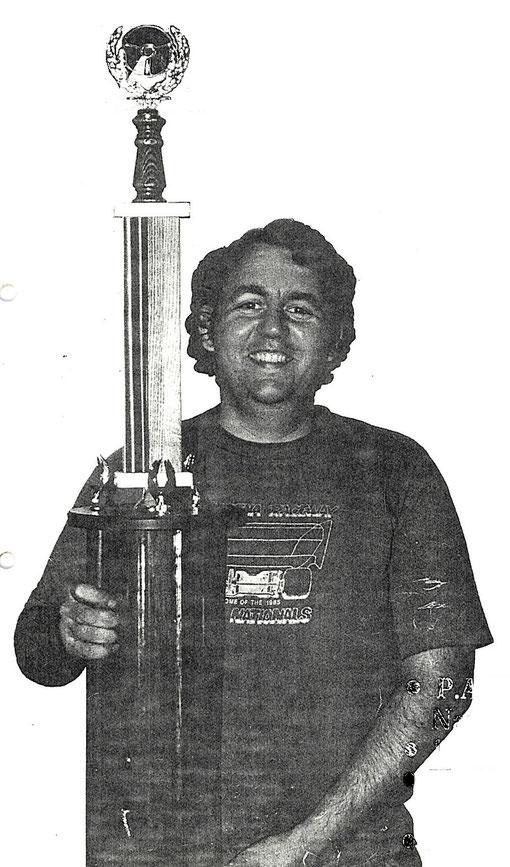 P.A. Watson champion des États-Unis 1986