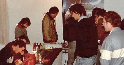 Les directeurs de courses et Michel Thoumieu, Didier Moret, Dominique Homatter, Samy Béraha.
