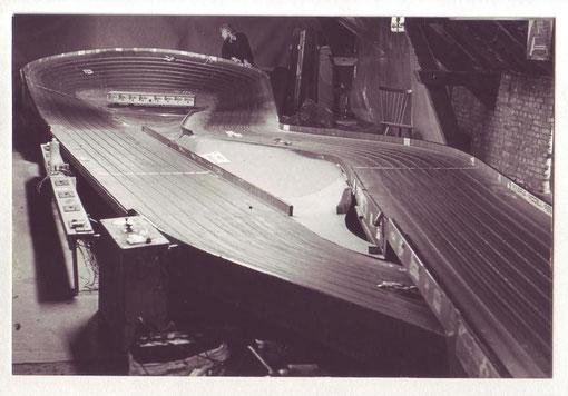 Piste Minerva achetée en Belgique en 1981 et qui devint la base de la piste de Thoiry en 1982.