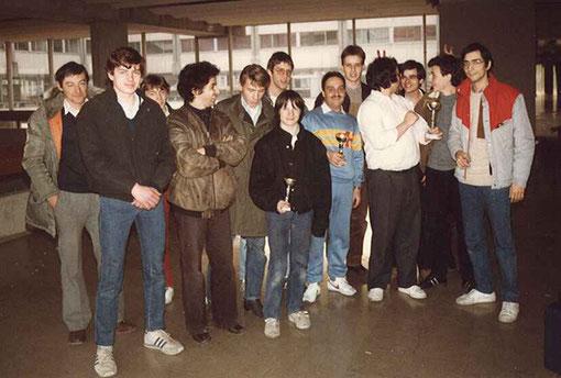 Slot 1985 Châtenay-Malabry remise des trophées