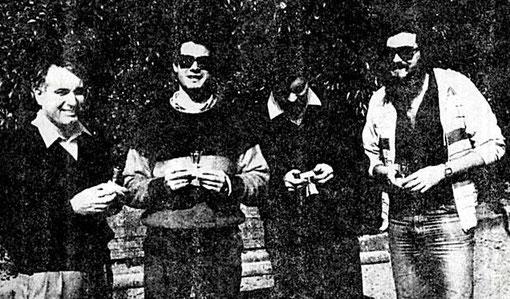 ESPAÑA ! Juan Bassas, Marino San José, Josep-M. Armengol, Miguel Pascual Laborda.