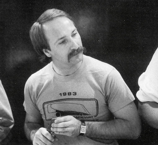 Csaba Szekelyhidi champion du monde de slot racind V.E.C. 1985