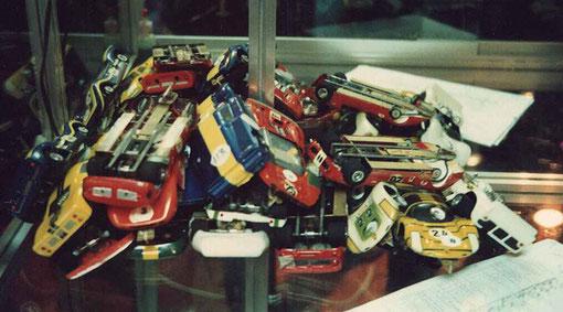 Les belles autos rangées par Christophe Peix le préparateur officilel