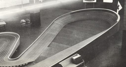 Le Banking de la piste de slot racing de Rome