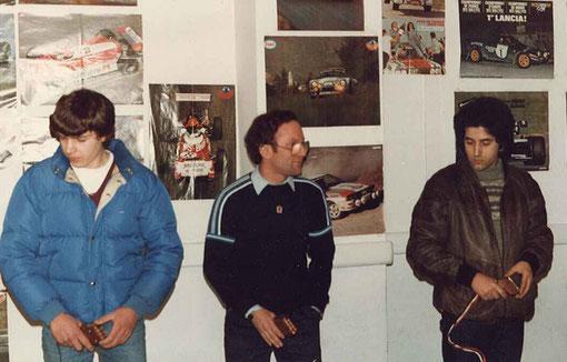William Inghelbrecht, Samy Béraha & Philippe Point.