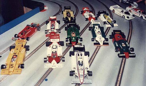 Quelques F 1 à l'Isle sur Sorgue 1985.