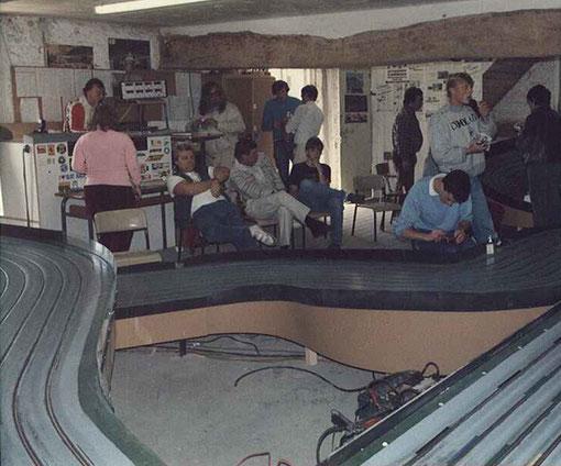 La piste de Thoiry et les compétiteurs internationaux de sptembre 1985