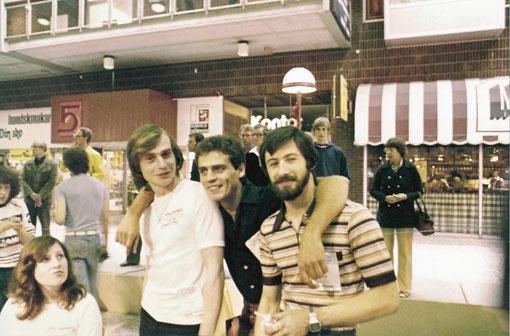 Worlds 1978 Göteborg : Daniel Rachez,  Philippe Thibault, Gil Michel