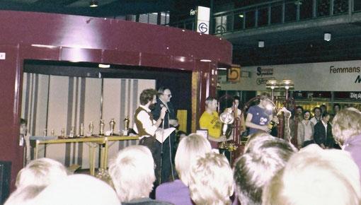 Remise des prix aux Worlds 1978