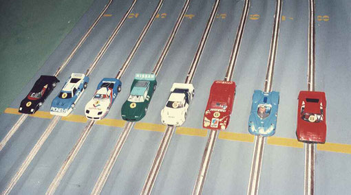Agen 1986 finale production: Ferrari GTO Malherbe, Ferrari BB 512 Pascal, Corvette Thoumieu, Nissan 300 ZX Trécul, Ford RS 200 Vuillemin, Chevrolet Astro II Beaumesnil, Matra 670 Ritter, Ferrari GTO Béraha.