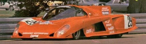 La vraie Gebhardt Toyota n° 29 qui a été choisie par William Inghelbrecht