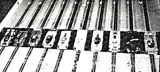 Les t'autos au départ des 24 heures de Mollerusa 1986