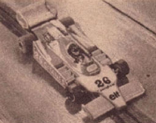 Ligier JS 11 de Alan Manton;