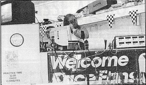 Direction de course de Chicago 1988 avec Marc Joyeux et Jean-Pierre Van Rossem