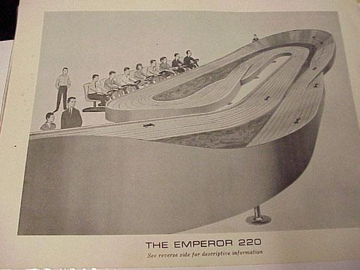 Piste slot Emperor 220