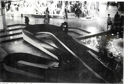 La Blue-King au centre commercial de Créteil-Soleil en octobre 1982