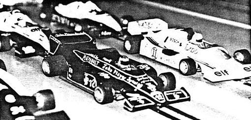 Formule 1 au GP de  Bron 1985 ( MiniRacing 8 )