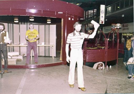 Gil Michel à la remise des prix Worlds Göteborg 1978