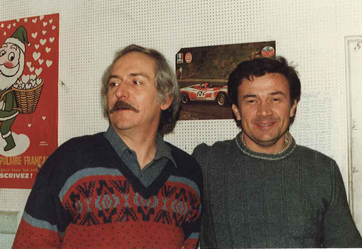 René Guélin et Jean-Marie Donzel du club de l'Isle sur la Sorgue