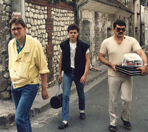 Olivier ( Rennes ) - William Inghelbrecht  (  Thoiry ) - Thierry Polin ( Rouen )