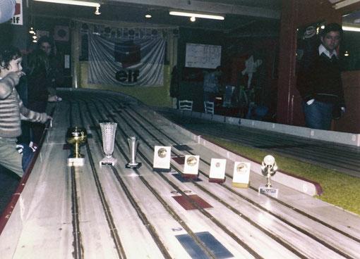 Grand Prix de Belgique slot 1978 - les trophées ( photo Gil Michel )