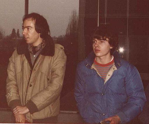 Didier Moret & William Inghelbrecht - William n'est pas petit ( ça non ! ) c'est Didier qui est spécialement grand