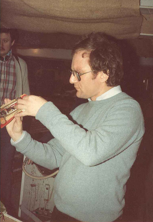 Samy Beraha à Château-Gontier 1982