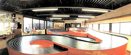 Piste de slot racing Blue-King de Vienne ( AUTRICHE )