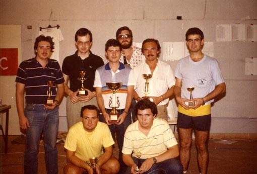 José Luis Peña - Angelo Magnani - Francisco  Germán Domingo - Miguel Pascual-Laborda - Giovanni Montiglio - Marino San José - Paolo Trigilio - José Mª Armengol.