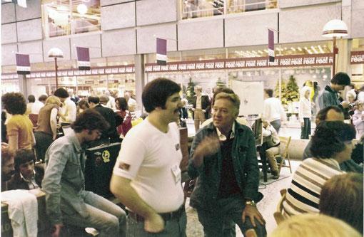 Ernie Provetti à Göteborg 1978