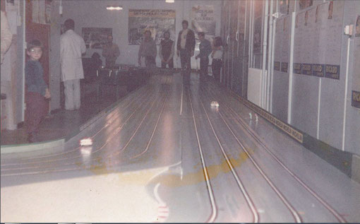 Slot racing 1/32 Grand prix de Lyon Bron 1985