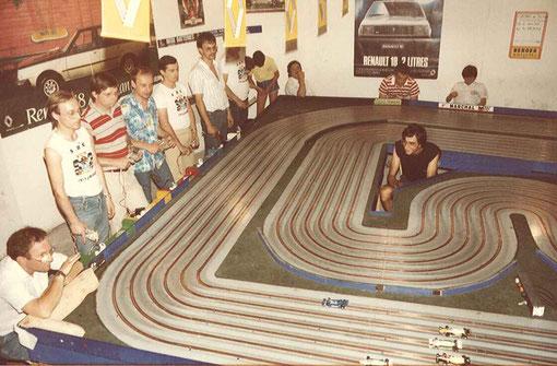 Départ Finale Formule 1 Isle 1984