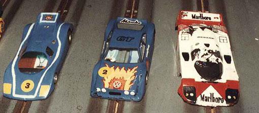 Sport-Europe série 1 : Rondeau Christophe Bord, VolskWagen Scirocco Thierry Mallet, Porsche 956 Gilles Perceau