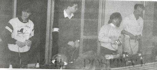 Corinna Gianotti, Josep-M Armengol, Françoise Lapeyre-Beraha, Frédéric Cardin.