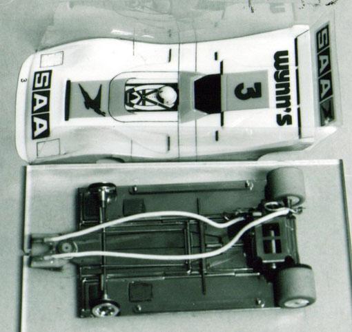 ( Visiblement ceci n'est pas le bon châssis ... ) Ferrari Silhouette 312 P